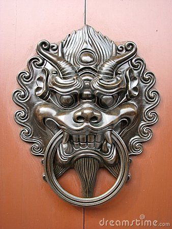 Chinese Door Knockers For Zhangs Asian Bistro