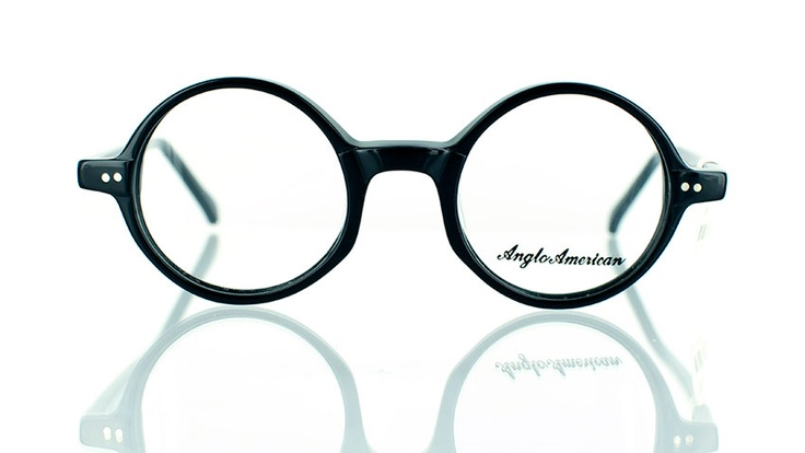 """Anglo Airlite 400 : Designer round glasses - find this Great """"Glassby"""" look at Goo Goo Eyes. 
