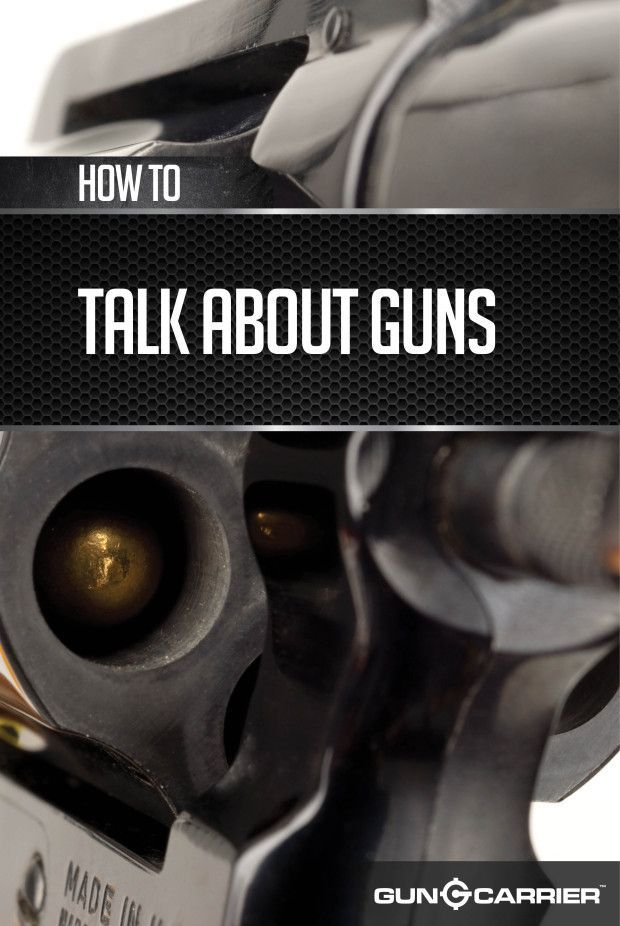 Gun terminology for the newbie firearm tips and ideas by gun carrier at http