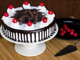 black forest cake home delivery in gurgaon