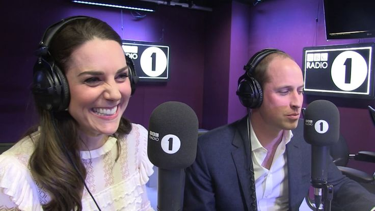 The Duke and Duchess of Cambridge read the Official Chart Top Ten - BBC ...