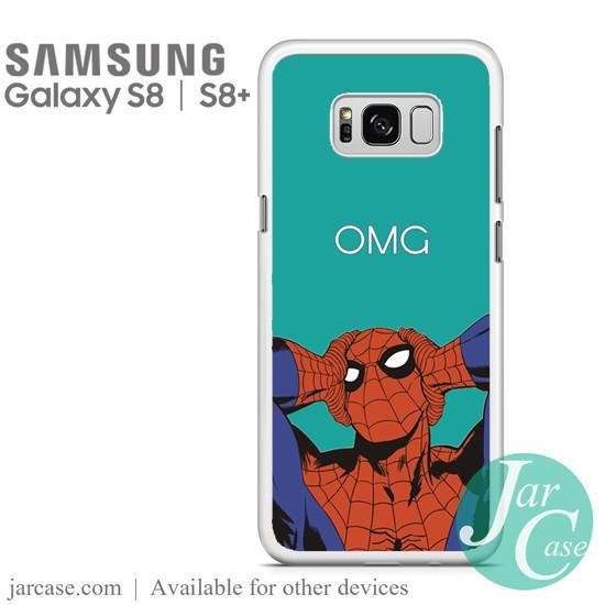 spiderman omg Phone Case for Samsung Galaxy S8