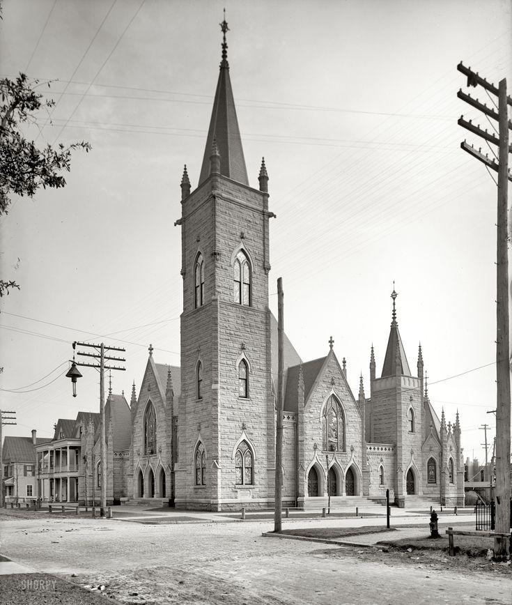 (c. 1904) First Presbyterian Church - Jacksonville, Florida.