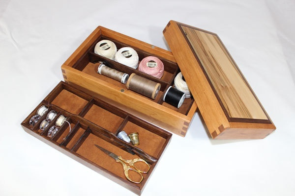 Unique wooden sewing box ideas on pinterest