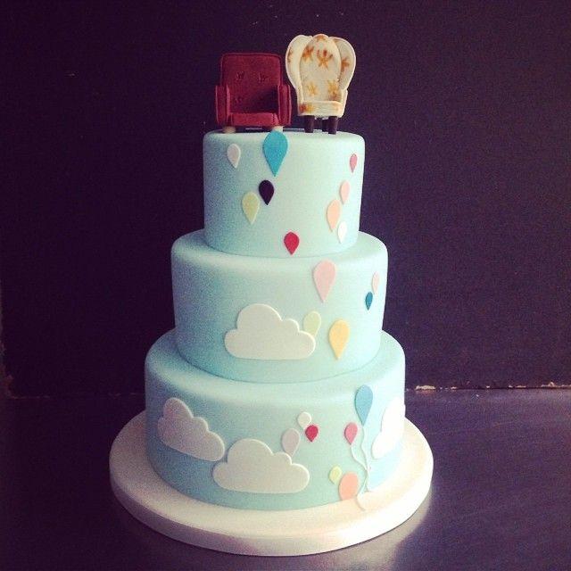 UP! wedding cake