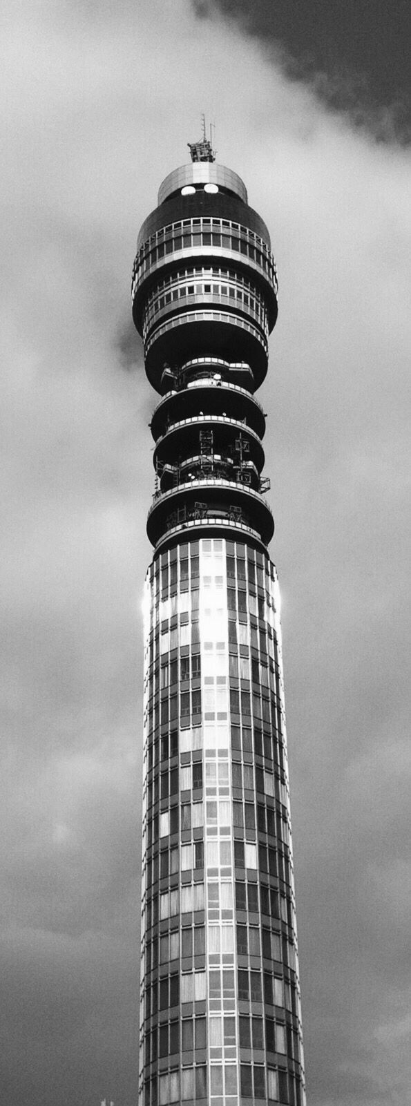 BT TOWER   FITZROVIA   CITY OF WESTMINSTER   LONDON   ENGLAND: *Former Names: London Telecom Tower; British Telecom Tower; Post Office Tower*