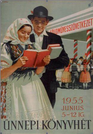 National Book week Design by: György Pál / Pál György