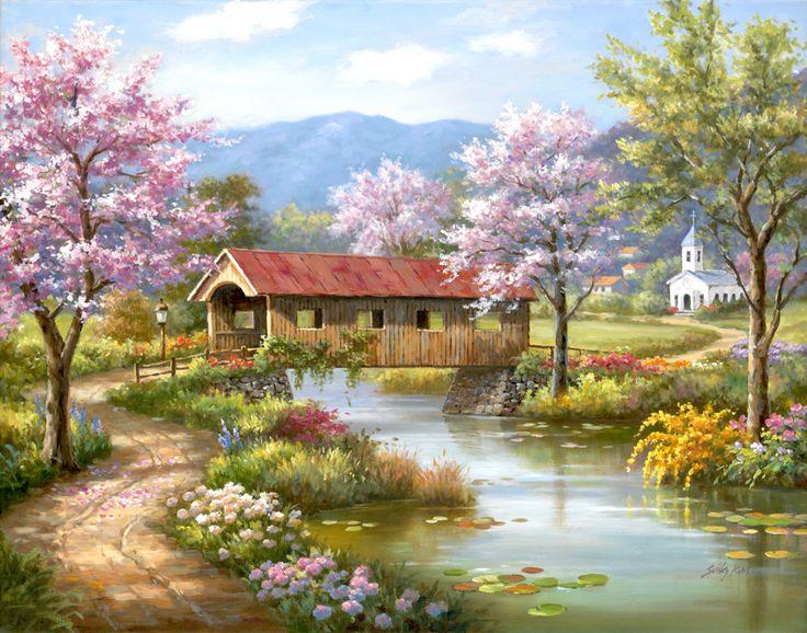 Resultado de imagen de pintor sung kim