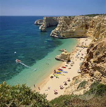 Portugal The Algarve Praia Da Marinha Armacao De Pera (1968-1862 / 2240357 © PhotoLocation Ltd PCL)