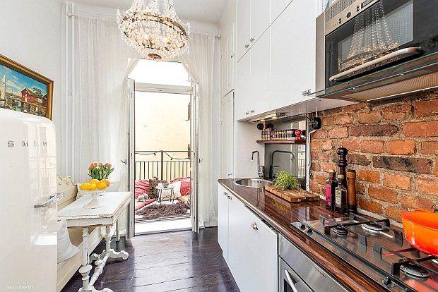 Małe mieszkanie w eklektycznym stylu - 34 m kw. - zdjęcie