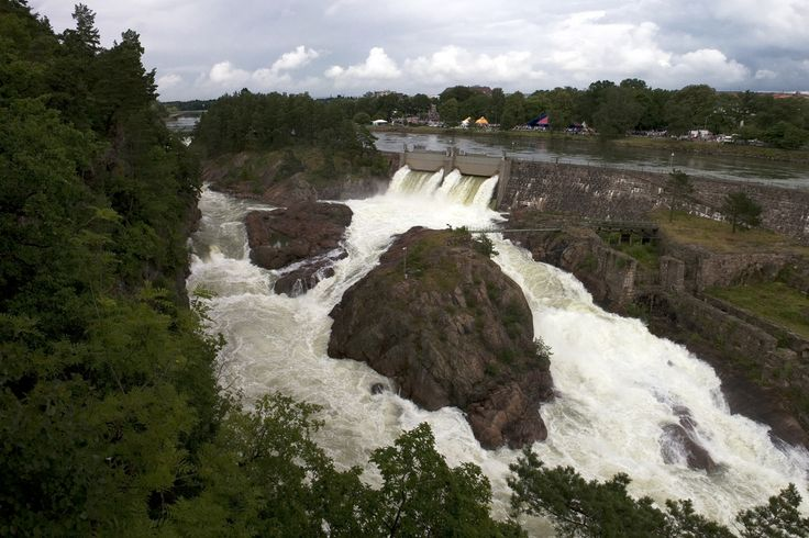 Trollhättan falls