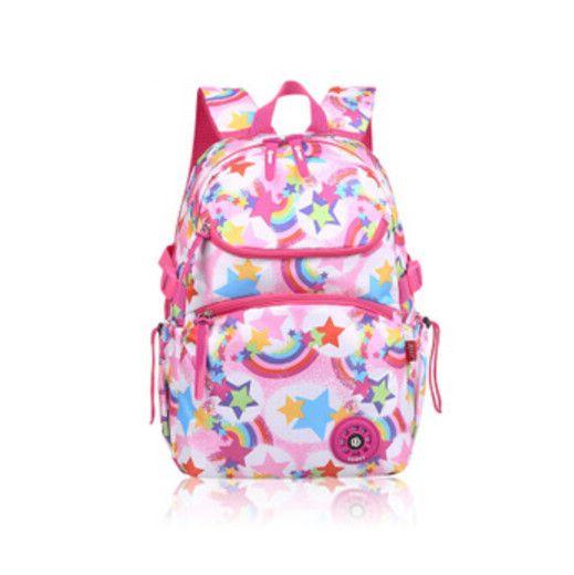 rainbow backpack unique waterproof pink school backpacks mochila infantil  orthopedic schoolbag for girls schultasche cartable