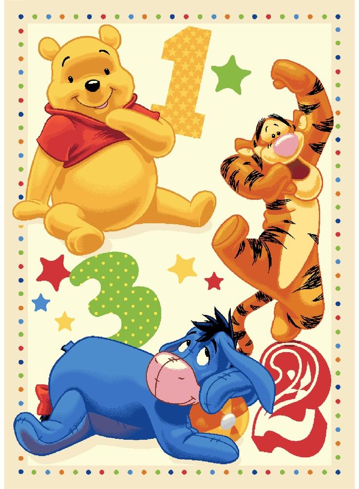 Tapis Winnie l'ourson - Disney - 29.00€ #kibodio