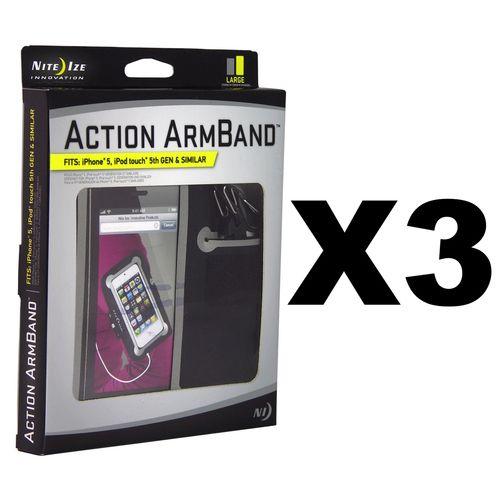 Nite Ize Action ArmBand - Large (3-Pack)