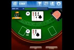 Lucky Play Casino Blackjack Win