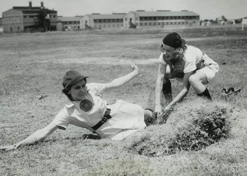 World War II women's baseball league taught lesson to follow goals