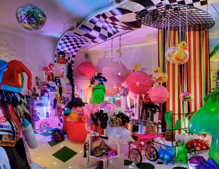 This is Not a Post Office, Madame Zingara's creation. Get your Party Gear!!!