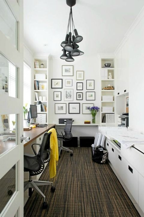 Barry Calhoun Photography: Lights Fixtures, Work Stations, Offices Design, Offices Spaces, Decks Design, Work Spaces, Galleries Wall, Workspaces, Home Offices