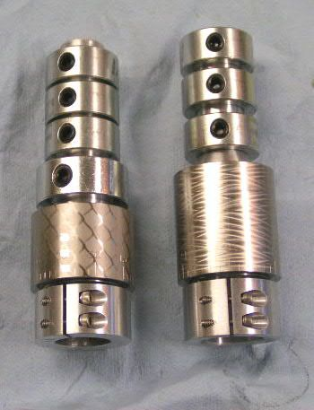 a Fudd tuner with some bearing collars to add more weight.