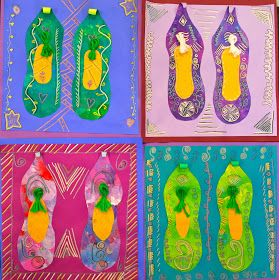 PAINTED PAPER: Slippers of India