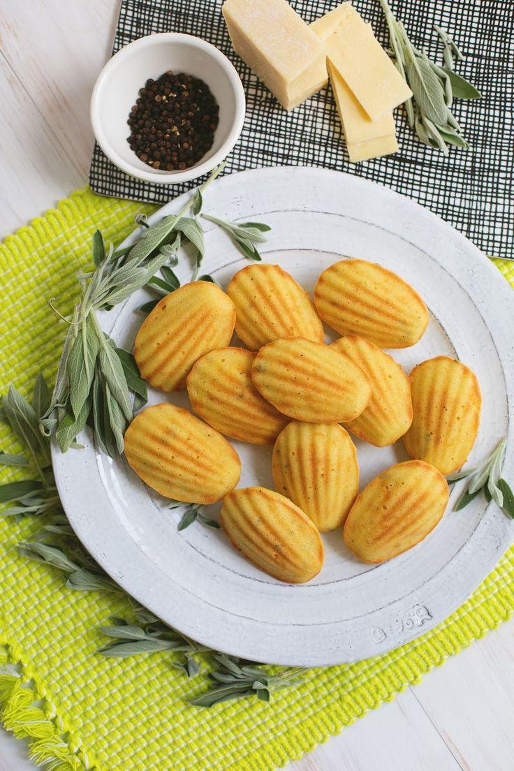 Sage butter madeleine biscuits