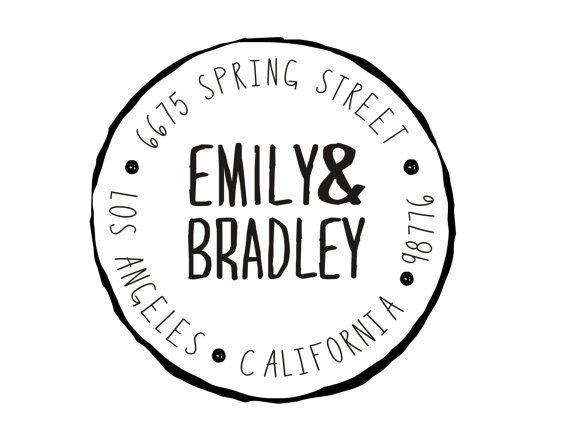 Wedding stamp idea