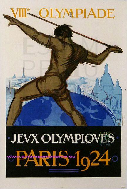 PARIS Jeux Olympiques 1924 79X119 Bhogor | Flickr - Photo Sharing!
