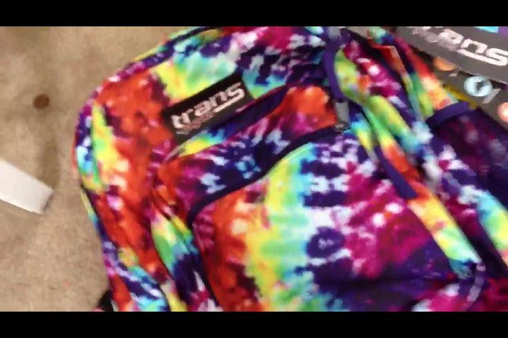 Rainbow Tie Dye Jansport Backpack