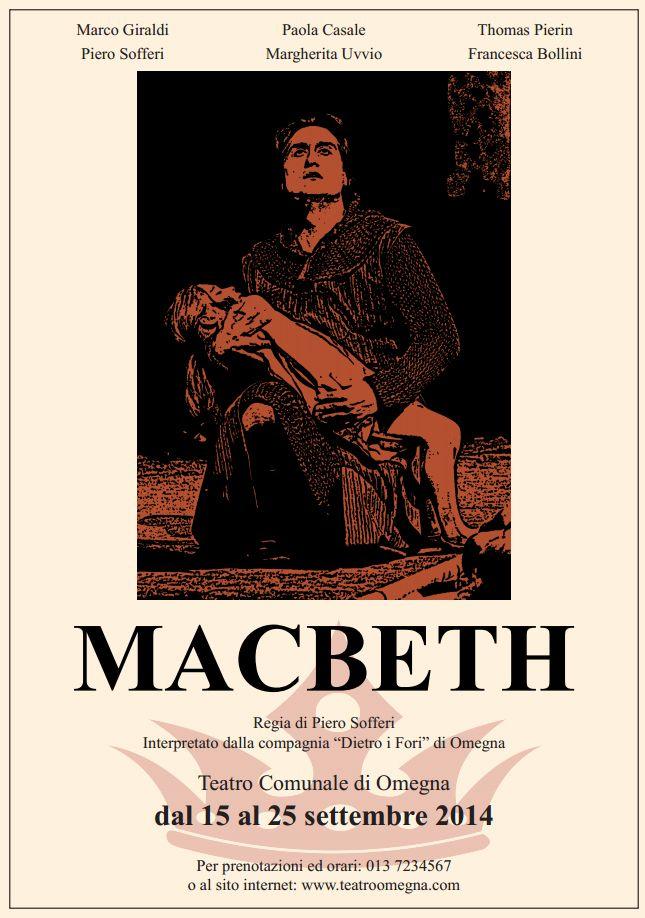Nuovo progetto per manifesto teatrale: Macbeth! Nel fronte manifesto, sul retro un pieghevole testuale.  Visita http://mannamarcografico.altervista.org/home.html per saperne di più!