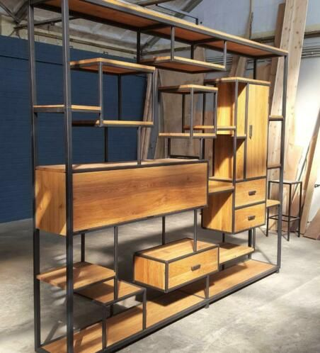 Undefined appartement en 2019 muebles industriales for Muebles industriales metal baratos