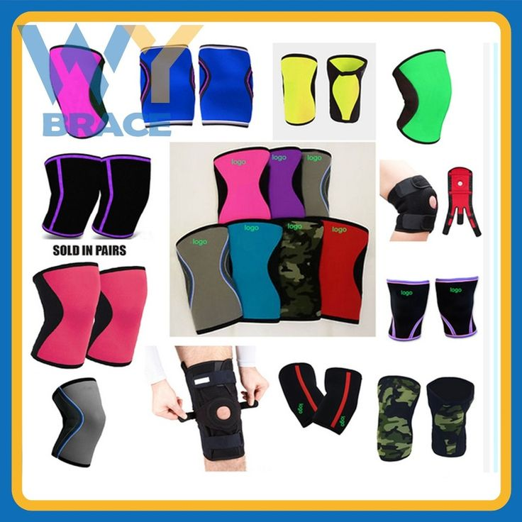 Weight lifting 3mm 5mm and 7mm Neoprene Knee Support, Compression Knee Sleeve for Weight Lifting, Crossfit, Powerlifting