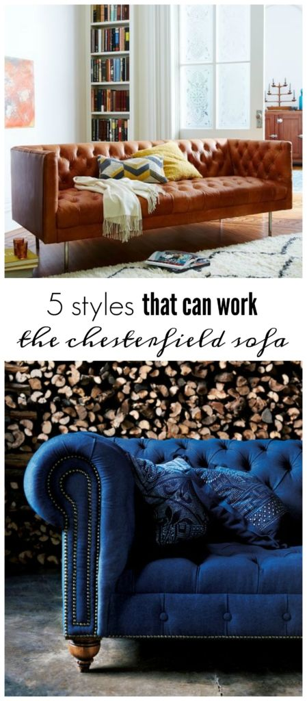 5 styles that can work the chesterfield sofa