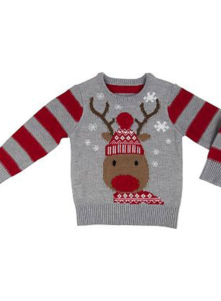 The best reindeer-themed novelty Christmas jumpers.  Are you looking for a novelty Christmas jumper and got a soft spot for Rudolph?    Check out our pick of reindeer-themed knits!