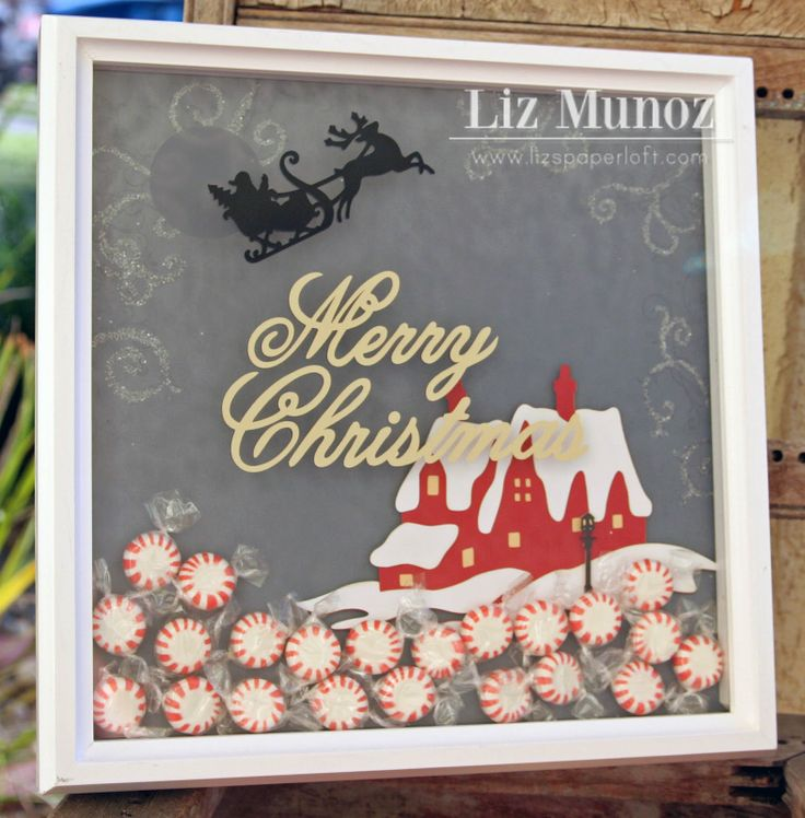 shadow boxes with cricut used different