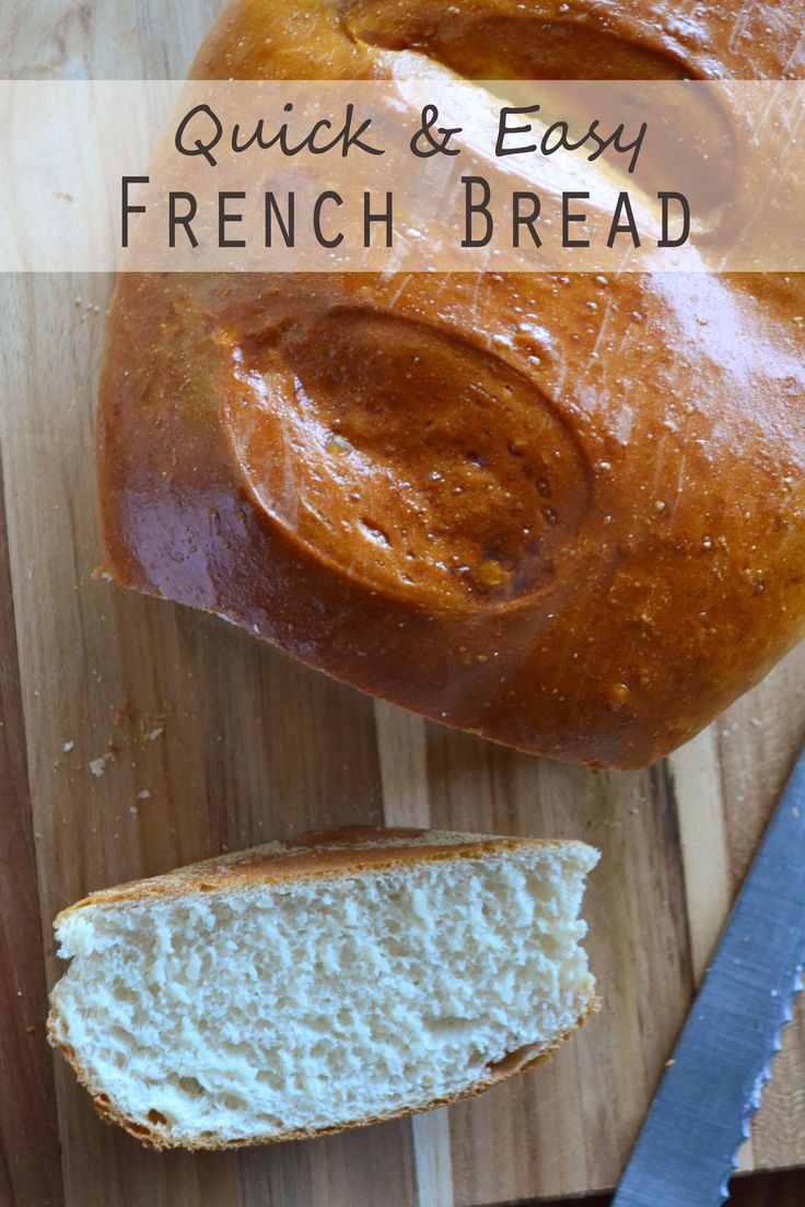 Easy, Golden, Fluffy French Bread