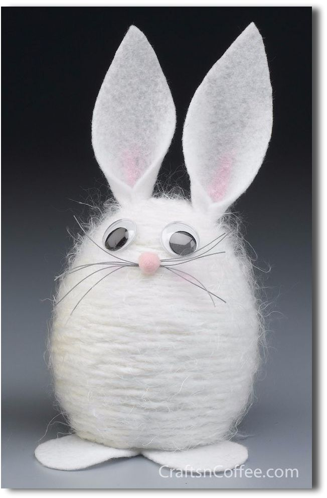 12 Fun Easter Crafts to do with Kids ~ Nittens and Patches