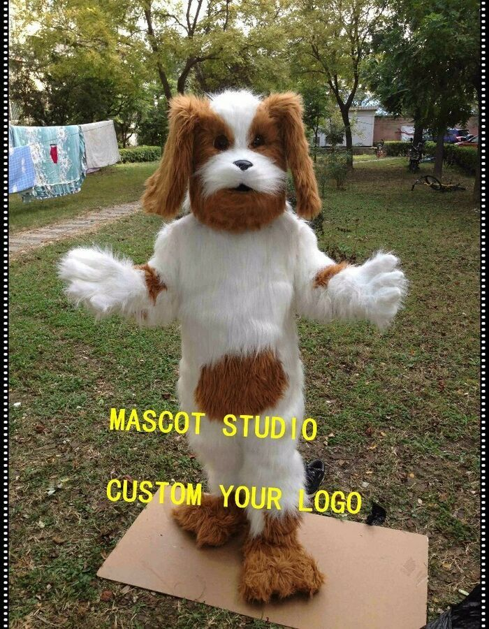 Dog Mascot Costume Cosplay Party Game Dress Outfit Advertising