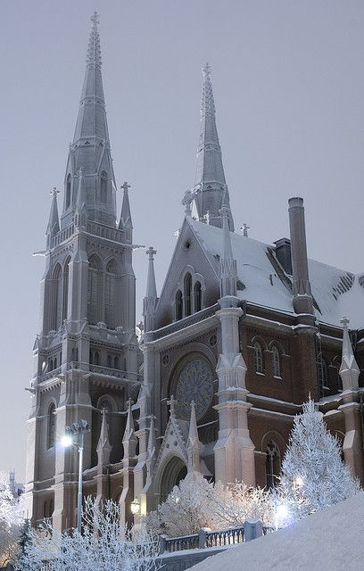 St. John´s Church ~ Helsinki, Finland --- Finland has beautiful churches!