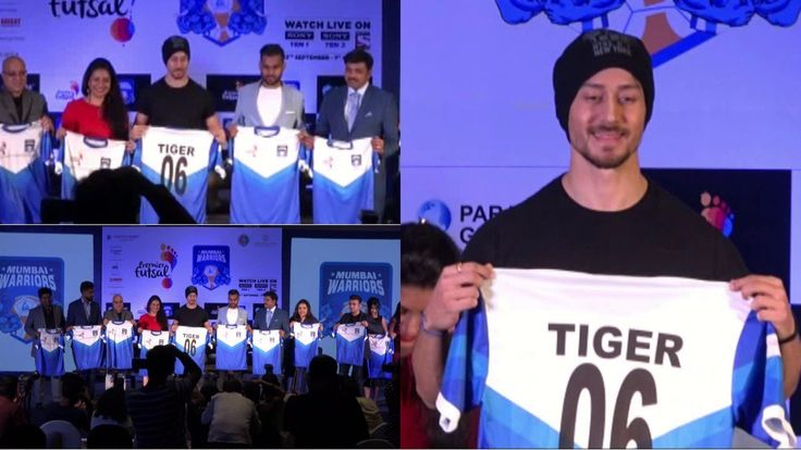 Krystal Mumbai Warriors get Bollywood actor Tiger Shroff as the co-owner for Premier Futsal Season Two and actor is over the moon as his lifelong dream