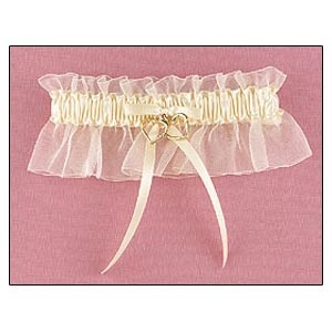 Garter (Linked at the Heart gold & ivory Collection)