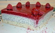 Geheime Rezepte: Himbeer - Mohn - Torte