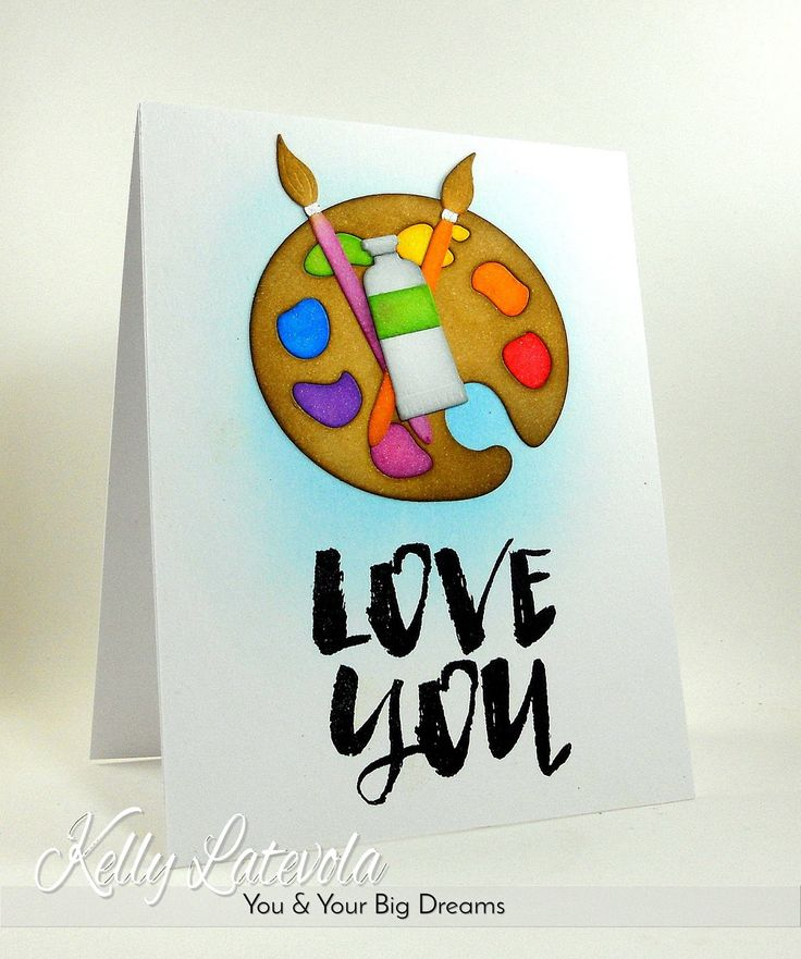 VIDEO: Crafty Valentines With Colored Die Cuts