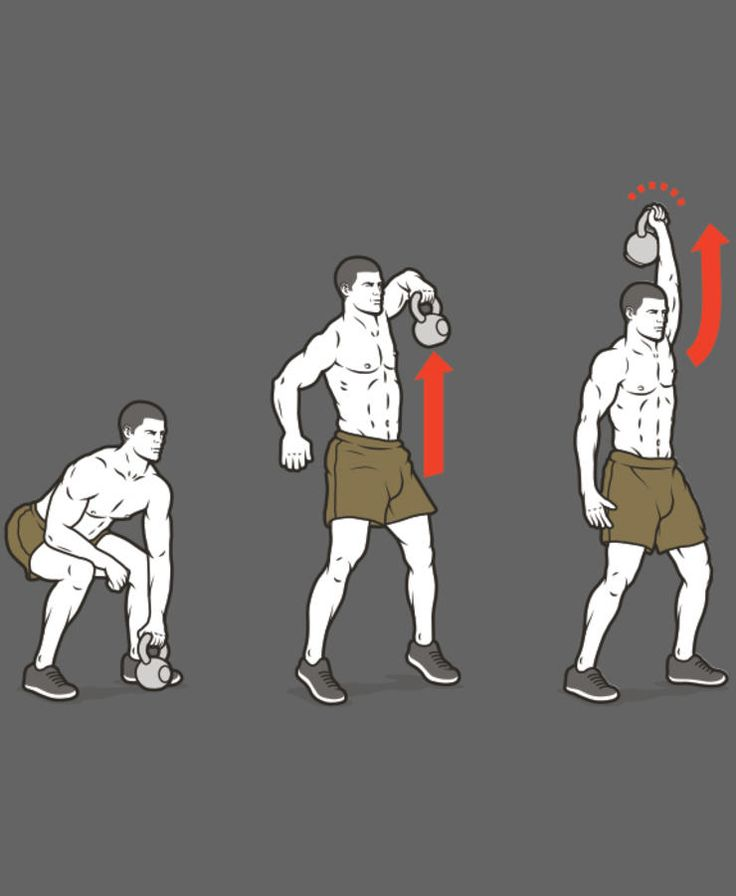 B1. Kettlebell Single-Arm Snatch