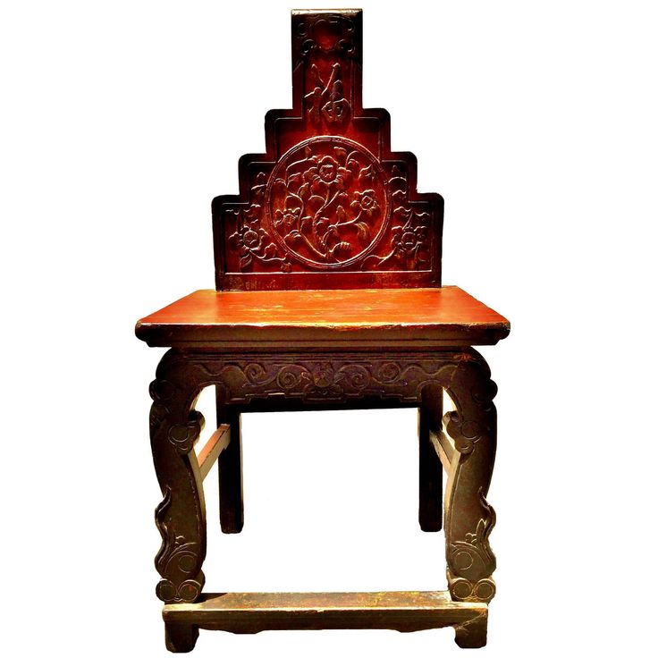 Antique Chinese Matriarch Empress Chair, Yun Nan Province, 19th Century | From a unique collection of antique and modern furniture at https://www.1stdibs.com/furniture/asian-art-furniture/furniture/