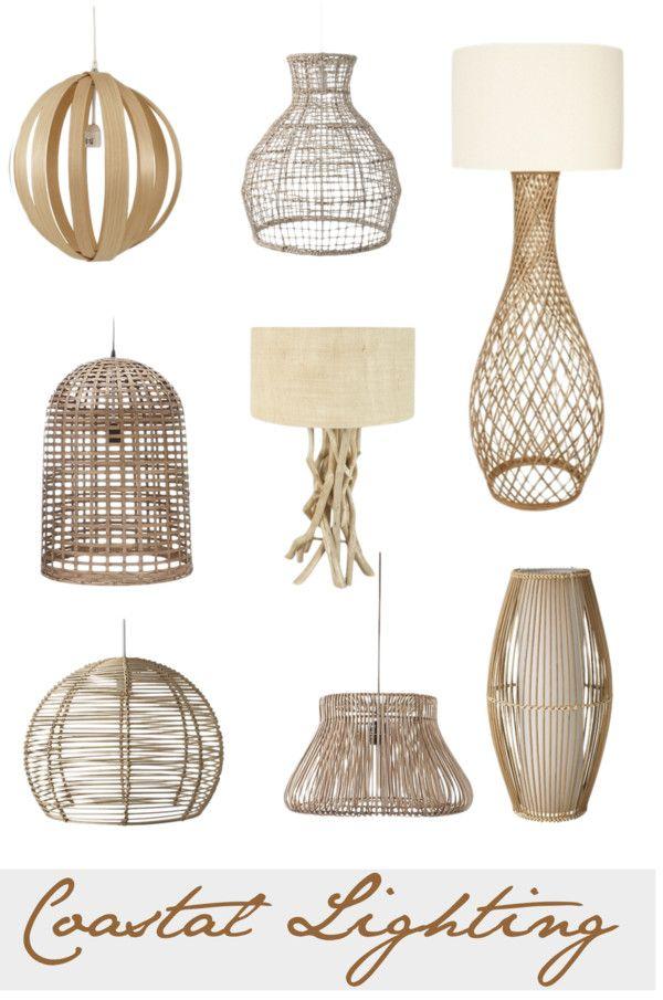 #Coastal Lighting - Coastal Style Blog