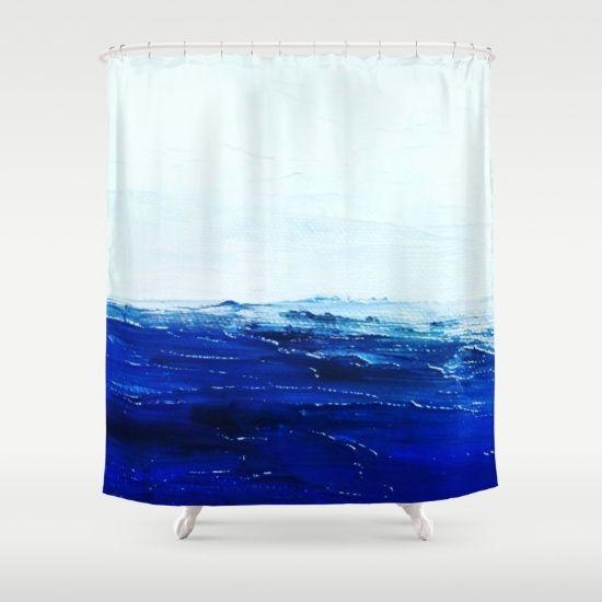 Ocean Calm Shower Curtain