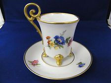 ALT Tirschenreuth 1838 Made In Germany Tea Cup And Saucer: