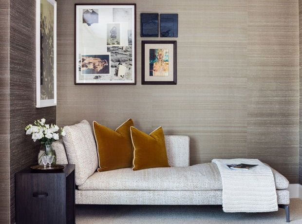60 Things That Make Regular Rooms Look Luxe Trending Decor Grasscloth Wallpaper Home Decor