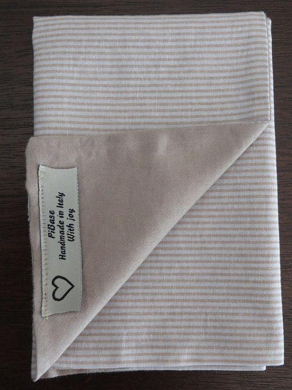 pochette da uomo fazzoletto da tasca doubleface cotone di piBase