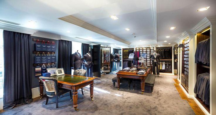 Hackett boutique in Paris, France